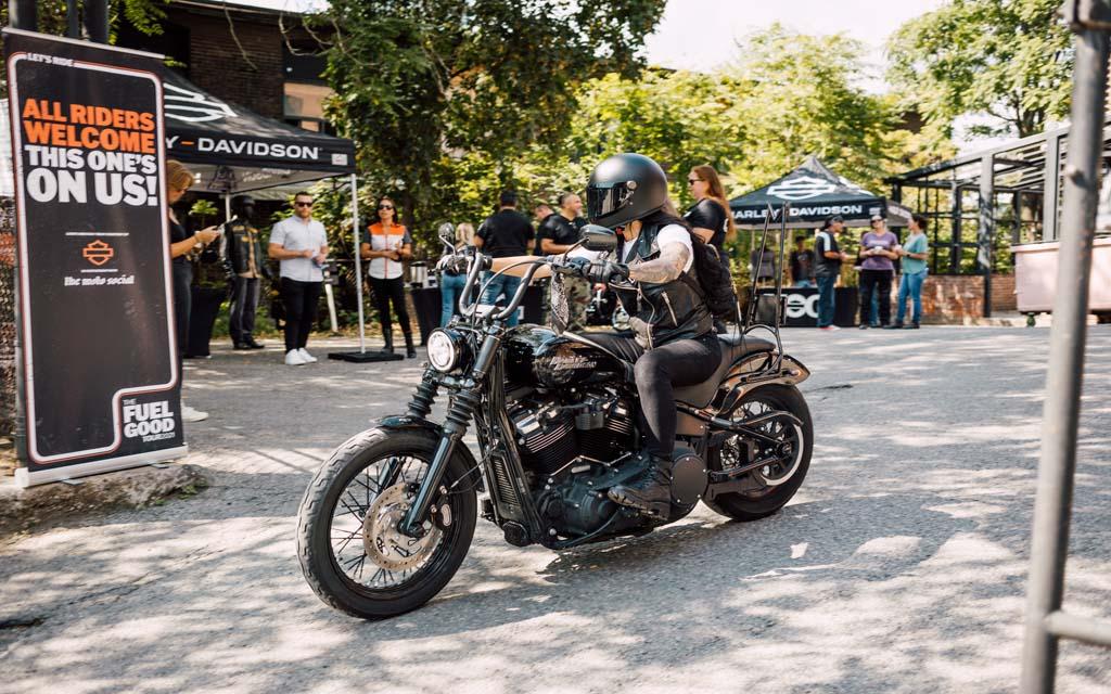Harley-Davidson amorce sa tournée pancanadienne FUEL GOOD de l'automne